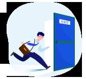 exit business